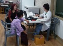[군위]보건소 국가 암 이동검진 실시