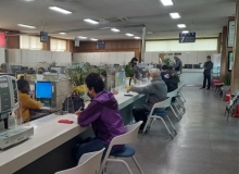 [군위]군위읍행정복지센터, 빈틈없는'안심'생활방역 민원실 조성