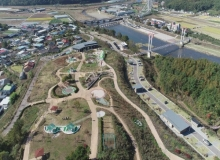 [군위]위천수변 테마파크 짚라인 설치사업 추진